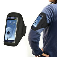 Black Sports Cycling Running Gym Armband Case for Samsung Galaxy S4