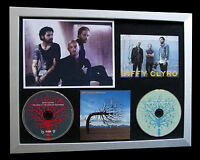 BIFFY CLYRO+SIGNED+FRAMED+OPPOSITES+BUBBLES=100% AUTHENTIC+EXPRESS GLOBAL SHIP