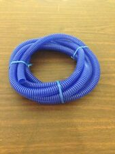"""3/8""""  Blue Split wire Loom Standard Polyethylene 10 ft."""