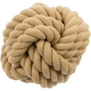 Trixie Be Nordic Rope Ball Toy for Dogs, Tau Fetch ball, Polyester/Cotton, 18 cm