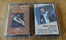 Razzy Bailey NEW/SEALED Cassette Lot - Greatest Hits & Knock On Wood - $3 S/H!