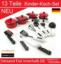 Kinder Kochset Geschirrset 13 Teile Kochgeschirrset Küche Kinderküche OVP ✅NEU✅