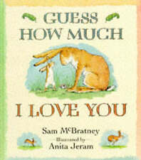Guess How Much I Love You by Sam McBratney/Anita Jeram (Hardback, 1994)