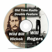 Wild Bill Hickok, Will Rogers, 426 FULL RUN Old Time Radio Shows MP3 DVD F78