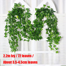 1X Artificial Ivy Leaf Trailing Vine Fake Foliage Flower Hanging Garland Plant