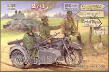 1/35 IBG 35002 BMW R12 Motorcycle with Sidecar - Military versions ( 2 in 1)