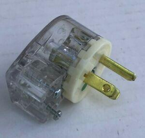 (6-Pack) Bryant 8295-T Hospital Grade Angle Plug 15A 125V 2P3W NEMA 5-15P