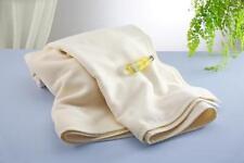 Cotton Blanket Throw Ecru 100% Cotton Japan Washable All Seasons