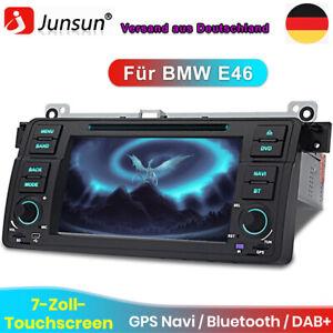"""7"""" Für BMW E46 3er 318 320 325 GPS Autoradio NAVI BT DVD USB Stereo VMCD RDS DAB"""