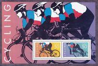 US 3119 MNH Bicycle Cycling Souvenir Sheet Very Fine
