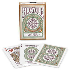 Bicycle Autumn Deck - Playing Cards - Magic Tricks - New