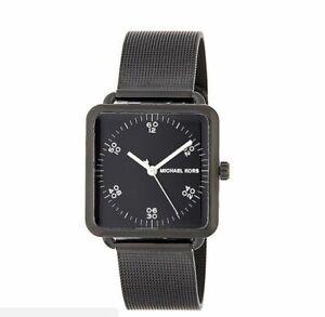 Michael Kors MK3562 Brenner Black Square Unisex Watch