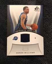 2006-07 SP Game Used #197 Deron Williams Jersey
