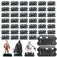 LOT Star Wars Stand Base Lightsaber for 3.75'' Clone Trooper Action Figure Toys