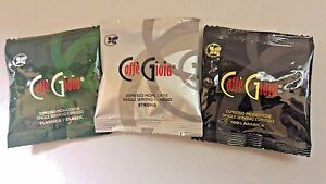 120 Caffe Gioia ESE 44mm  Coffee Pods Variety Pack - No Decaf (FREE P&P)