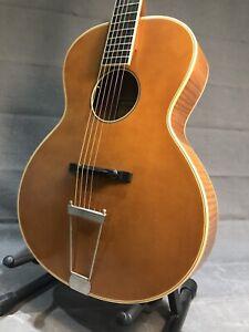 Epiphone Century Zenith Masterbilt Electro Acoustic Archtop Guitar + Case. Jazz