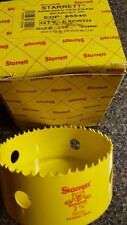 Starrett 65540 Arbored  Bearcat  Hole Saw 3 3/4""