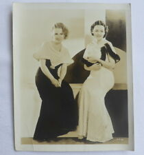MAUREEN O'SULLIVAN & ANITA PAGE actresses vintage original photos 30's