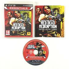 Red Dead Redemption - Edition jeu de l'année / GOTY Game of The year Jeu PS3