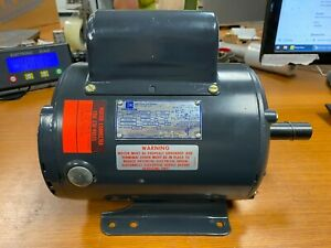 👀 NEW EMERSON 1 HP ELECTRIC AC MOTOR 115/230 VAC 1725 RPM 1 PHASE 145T FRAME