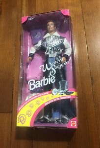 Barbie Western Stampin Ken Doll With Cowboy Outfit 1993 Mattel 10294 New In Box