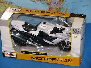 1/12 MAISTO KAWASAKI NINJA ZX-14R MOTORCYCLE DIE-CAST *BRAND NEW & RARE*