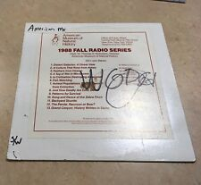 American Museum of Natural History Fall Radio Series 1988 Radio Station Only