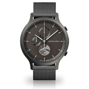Lilienthal Berlin C01-LE-METEORITE-B23 Chronograph Limited Edition 42,5mm ...