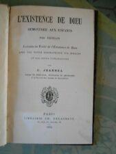 L'existence de Dieu démontrée aux enfants par Fénelon - Notes de C. Jeannel 1875