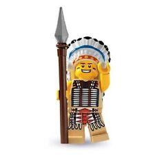 Lego minifigures serie 3 da collezione capo indiano