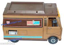 Camion marron CAMPER ancien pour figurines BIG JIM en 1972 MATTEL camping car