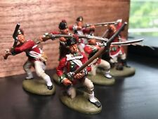 Hand Painted 1/32 scale British light infantry US Revolution LOD brand