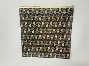 """Graphic 45 Scrapbook Paper Curtain Call Collection Pantomime 25 sheets 12""""x12"""""""