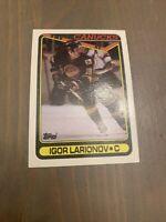 Hockey Card - 1990-91 Topps #359 Igor Larionov - Vancouver Canucks