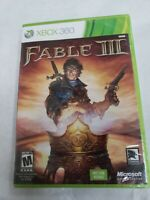 FABLE III Xbox 360 Game NEW FACTORY SEALED Adventure Action Revolution video