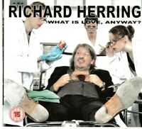 Richard Herring - What is Love Anyway (DVD) UK Comedy All Region (Shelf 3A6 GS)