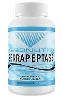 Absonutrix Serrapeptase 250,000 IU 60 mg Enteric coated Capsules 60 Joint Pain