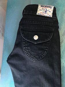 True Religion Skinny Leg Dark Gray women Sizes 27x34