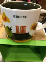 Starbucks Coffee 'You Are Here' YAH City Mug GREECE, Griechenland Tasse.