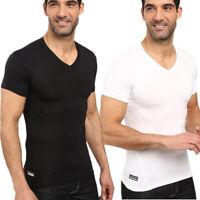 Under Armour Men's V- Neck Tactical HeatGear Compression Wicking T-Shirt