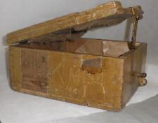 *** vintage original caja de munición de guerra Mundial ***