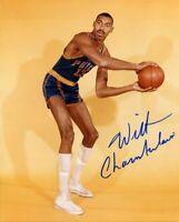 Wilt Chamberlain Autographed Signed 8x10 Photo ( HOF Lakers ) REPRINT