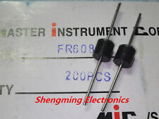100PCS FR608 6A 800V fast recovery diodes