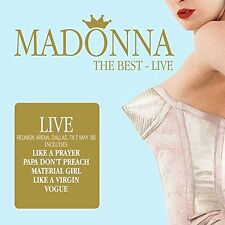 Madonna-The Best Live -- 2 CD NUOVO & OVP 23.09.2016