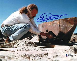 LORNE PETERSON SIGNED 8x10 PHOTO ILM VISUAL EFFECTS ARTIST STAR WARS BECKETT BAS