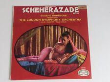 RIMSKY-KORSAKOV'S SCHEHERAZADE OP. 35- EUGENE GOOSSENS-LONDON SYMPHONY LP