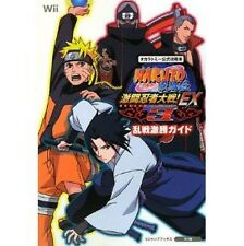 Naruto Shippuuden Gekitou Ninja Taisen ex3 Offizieller Strategie Guide Book/Wii