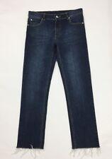 Cheap monday jeans donna usato W32 tg 46 slim skinny aderenti sfilacciati T3703