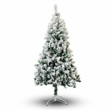 6 8ft - White Christmas Trees On Sale