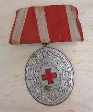 original  Medaille Thüringen Landesverband Rotes  Kreuz für Treue Mitarbeit II